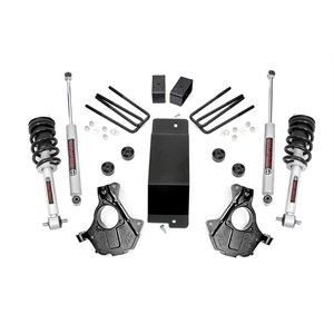 3.5IN GM SUSPENSION LIFT | KNUCKLE KIT (07-13 1500 PU 4WD) W / LIFTED STRUTS