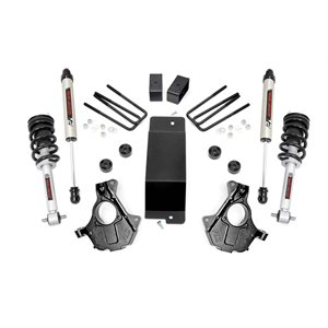 3.5IN GM SUSPENSION LIFT | KNUCKLE KIT (07-13 1500 PU 4WD) W / LIFTED STRUTS & V2