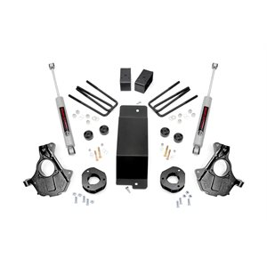3.5IN GM SUSPENSION LIFT | KNUCKLE KIT (14-18 1500 PU 4WD) / ALUM. & STAMPED STEEL