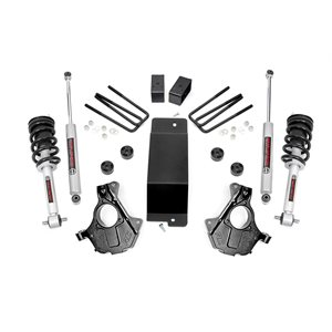 3.5IN GM SUSPENSION LIFT | KNUCKLE KIT (14-18 1500 PU 4WD) | STRUTS | CAST STEEL
