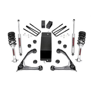 3.5IN GM SUSPENSION LIFT KIT W / FORGED UPPER CONTROL ARMS (14-16 1500 PU 4WD) W / LIFTED STRUTS