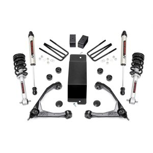 3.5IN GM SUSPENSION LIFT KIT W / FORGED UPPER CONTROL ARMS (14-16 1500 PU 4WD) W / LIFTED STRUTS & V2