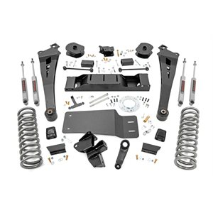 5IN DODGE SUSPENSION LIFT KIT | COIL SPRINGS | RADIUS ARMS (19-20 RAM 2500 4WD | DIESEL)
