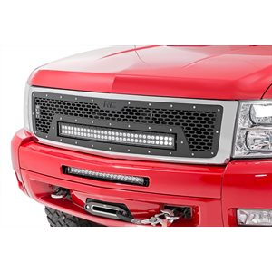 CHEVY 1500 07-13 MESH GRILLE W / 30IN DUAL ROW BLACK SERIES