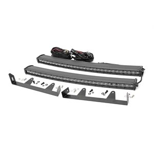 CHEVY 30IN LED HIDDEN GRILLE KIT (03-06 1500 / 2500) BLACK SERIES