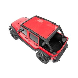 JEEP JK 07-18 | 4-DOOR BIKINI TOP PLUS / RED