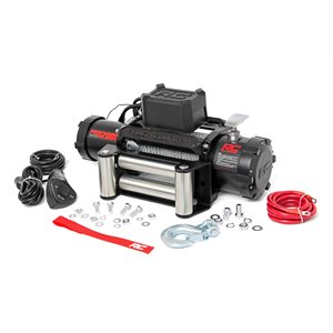 12000LB PRO SERIES ELECTRIC WINCH   STEEL CABLE