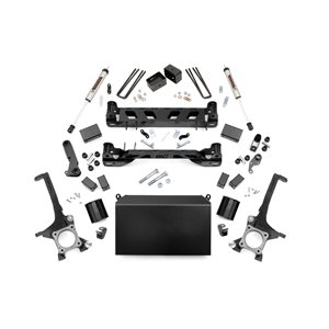 4in Toyota Suspension Lift Kit w / V2 Shocks (16-21 Tundra 4WD / 2