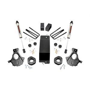 3.5IN GM SUSPENSION LIFT   KNUCKLE KIT (14-18 1500 PU 4WD) / ALUM & STAMPED / V2 SHOCKS