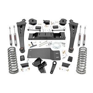 5IN DODGE SUSPENSION LIFT KIT | COIL SPRINGS | RADIUS ARMS (19-20 RAM 2500 4WD | DIESEL)