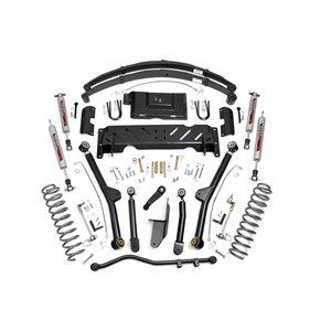 "JEEP XJ 84-01 4.5"" LONG ARM LIFT KIT W / 2.8 V6 / NP231 / LEAF SPRING"
