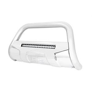 GM BULL BAR W / LED LIGHT BAR | STAINLESS STEEL (07-18 1500)